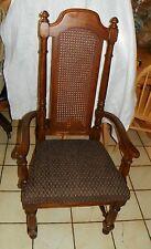 Dark Oak Armchair / Desk Chair by Thomasville  (AC138)