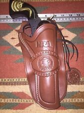 Heritage Rough Rider Small Bore 22 Caliber Cowboy Western Leather Holster NRA
