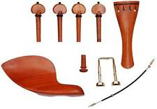 VIOLIN FITTINGS, LUXURIOUS PERNAMBUCO, PEGS, TAILPIECE, CHIN REST, END PIN!!!