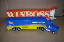 1990 Sunoco Ultra Racing Sterling Marlin  Winross Diecast Drop Bed Trailer Truck