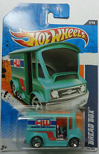 2011 Hot Wheels Bread Box Col. #171 (Teal Version)