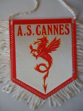 Wimpel Pennant A.S. Cannes # 8 x 10 cm