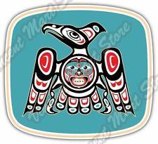 "Eagle Native American Indian Aztec Car Bumper Window Vinyl Sticker Decal 5""X4"""