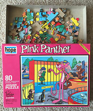 Pink Panther At The Zoo jigsaw puzzle on thick board, 80 pieces, ages 5-9 years