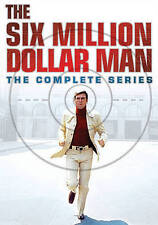 The Six Million Dollar Man: The Complete Series Seasons 1-5 + Reunion, DVD