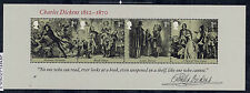 GB 2012 BICENTENARY of CHARLES DICKENS MINIATURE SHEET MNH
