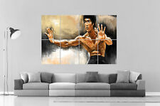 BRUCE LEE ART OF WING CHUN  Wall Art Poster Grand format A0 Large Print
