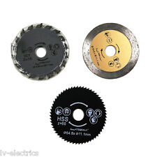 54.8mm Diameter 11.1mm Bore Mini Circular Saw Cutting Blade Disc for Dremel
