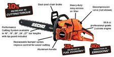 "Echo Chain Saw CS-600P 24"" Bar Fast Free Shipping + Oil + File!"