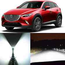 Alla Lighting Low Beam Headlight H11LL LED White LED Bulbs for Mazda CX-3 CX-5