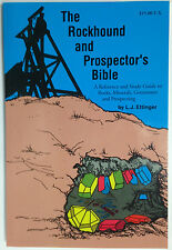The Rockhound and Prospector's Bible book NEW