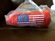 Scotty Cameron Large USA American Flag Red Head Cover & Divot Tool BRAND NEW