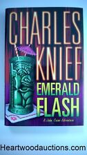 Emerald Flash by Charles Knief SIGNED FIRST