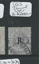 BANGKOK BRITISH PO IN THAILAND (PP0710B) ON QV STRAITS 6C CC SG5 SEE CANCEL  VFU
