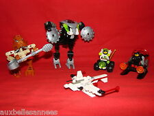LOT DE LEGO SYSTEM STAR WARS BIONICLE REF 6771 / 6812 / 6967 / 8573 / 8584