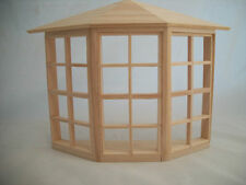 24-Light Bay Window  dollhouse miniature  #5008 1pc 1/12 scale Houseworks