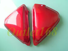 Pair HONDA CB125 S 1971 -' 72 CB125S CB100 K0 K1 Side Frame Battery Cover Red