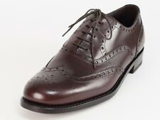 New  Harris  Dark Brown Leather Shoes UK 11 US 12