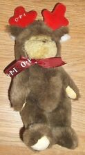 """OPI HOLIDAY BEAR-LIMITED EDITION! 9""""H-NEW!   MOOSE?"""