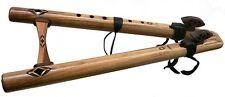 High Spirits Native American Style Flute Walnut Double drone C with FREE DVD