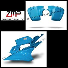 NEW HONDA TRX450R 04 - 05 ELECTRIC BLUE STANDARD FRONT AND REAR FENDER SET