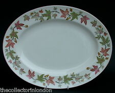Wedgwood Ivy House Pattern W4272 Pattern Oval Serving Platter 35cm Looks in VGC