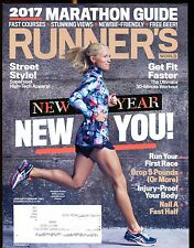 Runner's World Magazine January/February 2017 EX w/ML 021417jhe