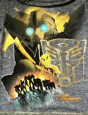 NEXT – BOYS GREY T-SHIRT – TRANSFORMERS PRIME - BUMBLEBEE – 3 YEARS