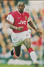 Football Photo LUIS BOA MORTE Arsenal 1997-98