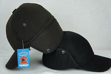 BROWN or BLACK Cashmere like AVIATOR TRAPPER HUNTING ELMER FUDD HAT M-3XL NWT