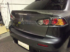 Lancer es cj vrx plastic ducktail Spoiler-bumper wing ralliart varis evo 10 led