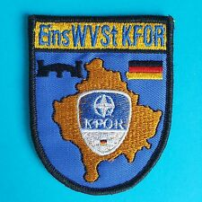 German Germany Flag NATO KFOR EinsWVSt Army Military Administrations Badge Patch