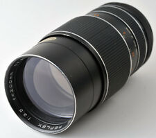 Prinzflex Auto Reflex 200mm f3.5 Telephoto Lens in M42 Screw Mount