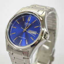 New!! CASIO Standard Mens Watch MTP-1239DJ Blue Genuine Japan Model Import