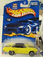 Hot Wheels '70 Plymouth Road Runner #110 Yellow