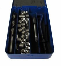 Rdgtools 6MM x 1 helicoil kit thread repair kit inserts perceuse tap outils