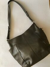 Authentic Jimmy Choo ANNA Large black leather tote Shoulder bag $1750
