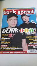 """REVISTA """"ROCK SOUND NUMERO 41"""" BLINK 182 BIOHAZARD TOOL MUSE BRIAN SETZER"""