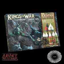 Army Painter BNIB Warpaints Kings of War Greenskins paint set APWP8014
