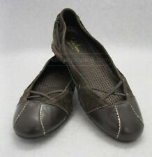 EUC Cole Haan Nike Air G Series Mary Jane Brown Leather Sz 6 B