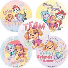 Paw Patrol Stickers x 5 - Birthday Party - Favours - Loot Ideas - Skye Stickers