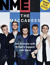 NEW MUSICAL EXPRESS NME 20 NOVEMBER 2015 THE MACCABEES Cover n.m.e.