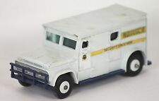 BRINKS ARMOURED CAR SECURITY IN METAL. DINKY TOYS. SCALE 1/43. REF 275.