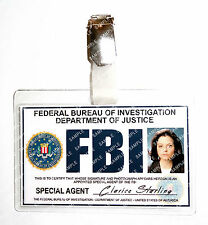 Silence of The Lambs Clarice Starling ID Badge FBI Cosplay Costume Halloween