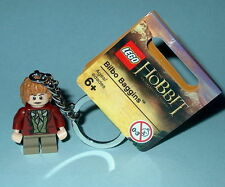 KEY CHAIN Lego The Hobbit Bilbo Baggins  NEW with Tags LOTR Genuine Lego 850680
