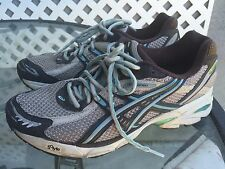 ASICS GT-2120 Duomax Womens Brown Blue Running Shoes Sneakers Size 10