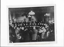 1945 PHOTO WW2 BIG 5 MINISTERS MEET AT LANCASTER HOUSE, LONDON ENGLAND #1