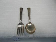 National Silver Co.Childs Set Pattern: Monach Two Circa: 1935s.