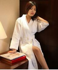 Women Nightwear Robes Pajama Dressing Gown Bath Robe Cute 4 Colors 100% Cotton