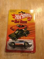 Hot Wheels Camaro Z-28 The Hot Ones #5182 New in Package 1983 Silver 3+ 1:64